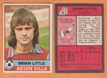 Aston Villa Brian Little England 26